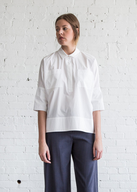 Schai Nehmo Shirt White