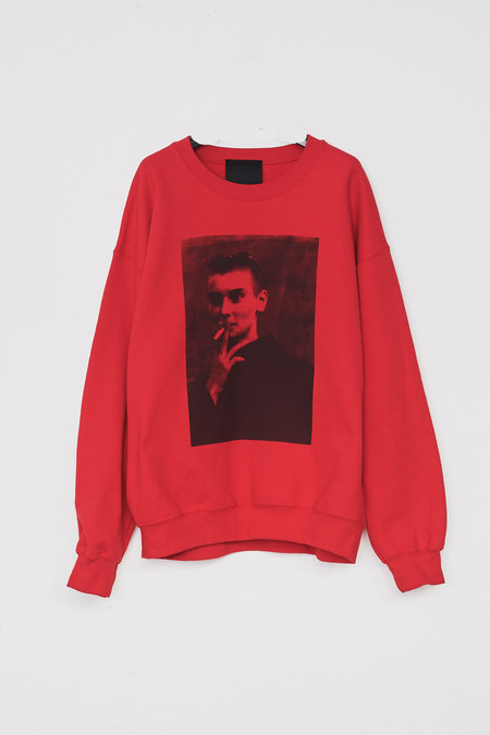 Assembly New York Cotton Red Sinead Sweatshirt