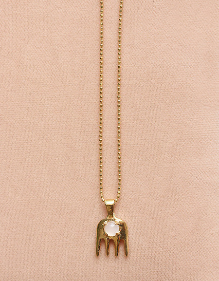 BlueBeard Rose Quartz Necklace