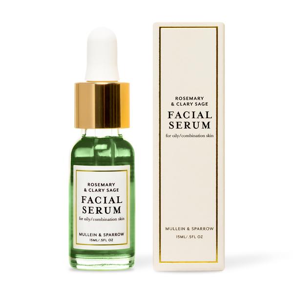 Mullein & Sparrow Rosemary & Clary Sage Facial Serum