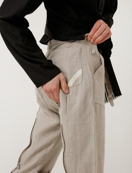 Phingerin Bondage Pants Linen Natural
