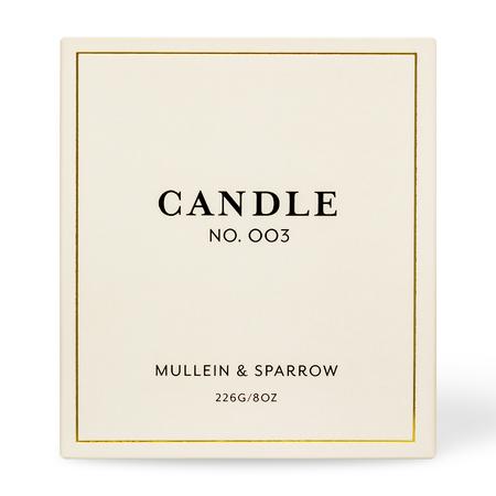 Mullein & Sparrow Candle 003 - Seva