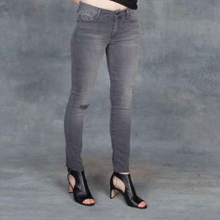 Mother Denim Looker Ankle Fray Last Chance Saloon