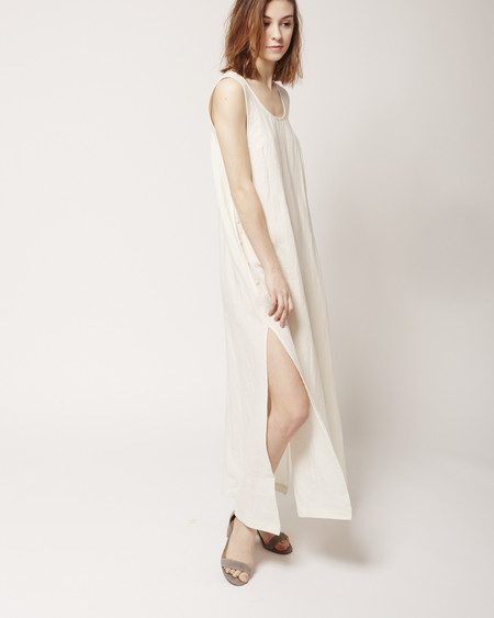 Ilana Kohn Jayna Dress in cream linen