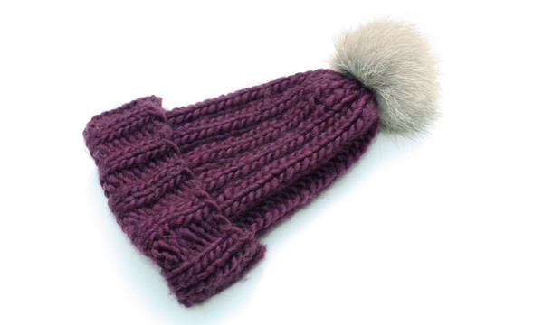 Headmistress, Knit Toque, Plum (sold out)