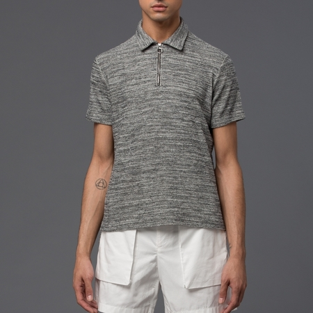 KRAMMER & STOUDT - Vintage Polo -­ Black and White Boucle