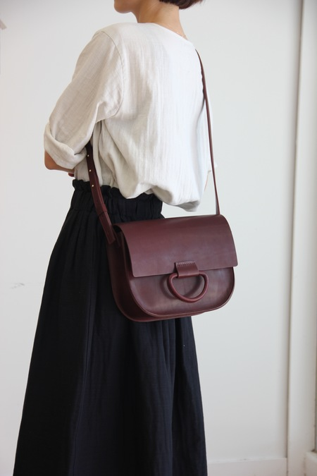 CRESCIONI LOGAN BAG OXBLOOD