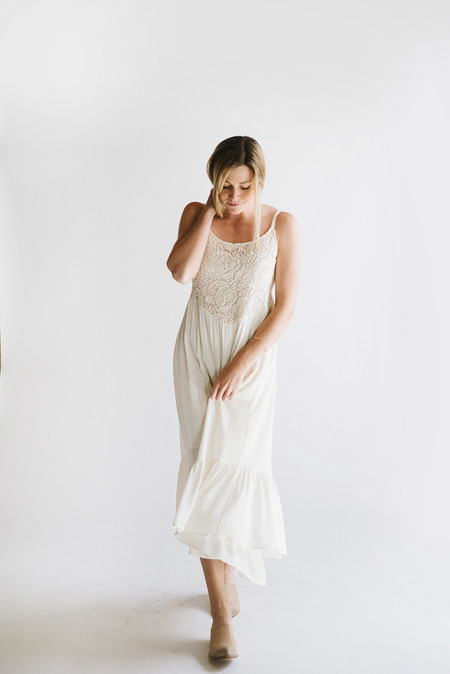 Sunday Supply Co. Crochet Maxi