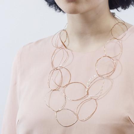 Patsy Kolesar 'Double Links Necklace'