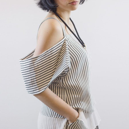 Melissa Nepton Olsen Striped Top