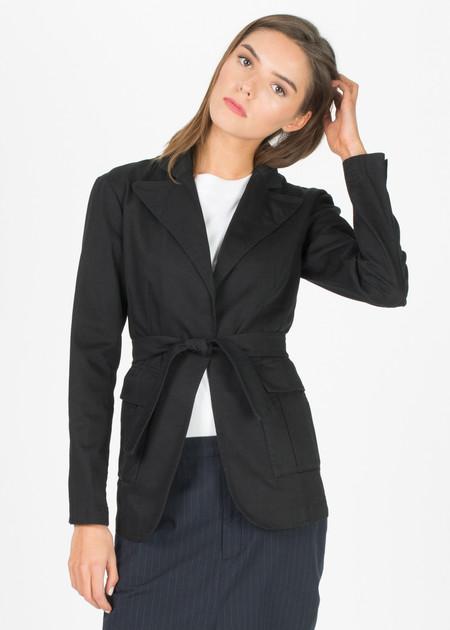 Sibel Saral Sernur Tie Blazer