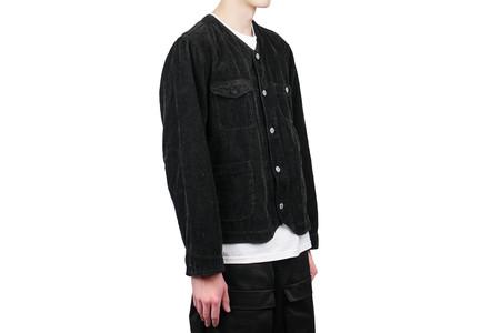 Snow Peak Linen Corduroy Jacket - Black