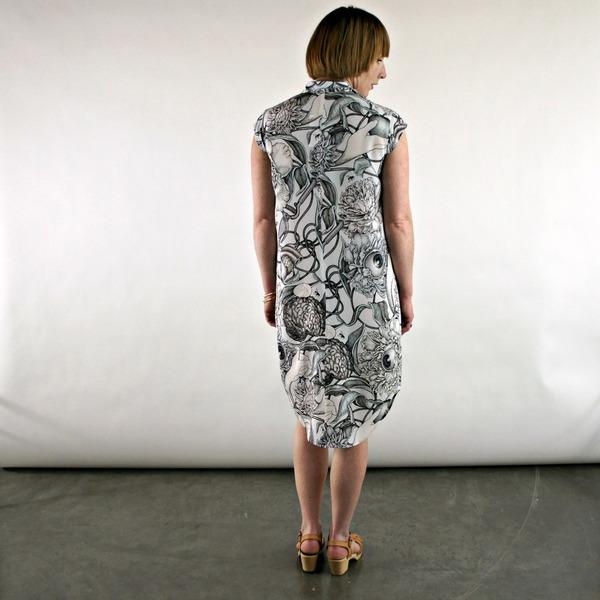 Ofelia Dress in Olivia Knapp Print by Silvae