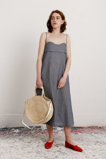 Toit Volant Verona Dress - Indigo