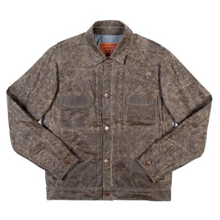 Freenote Cloth Waxed Riders Jacket—Beeswax