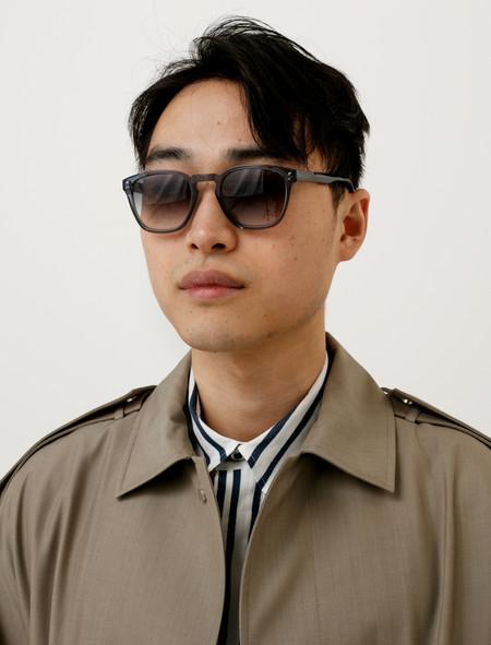 E Tautz Mens Genoa Sunglasses Steel