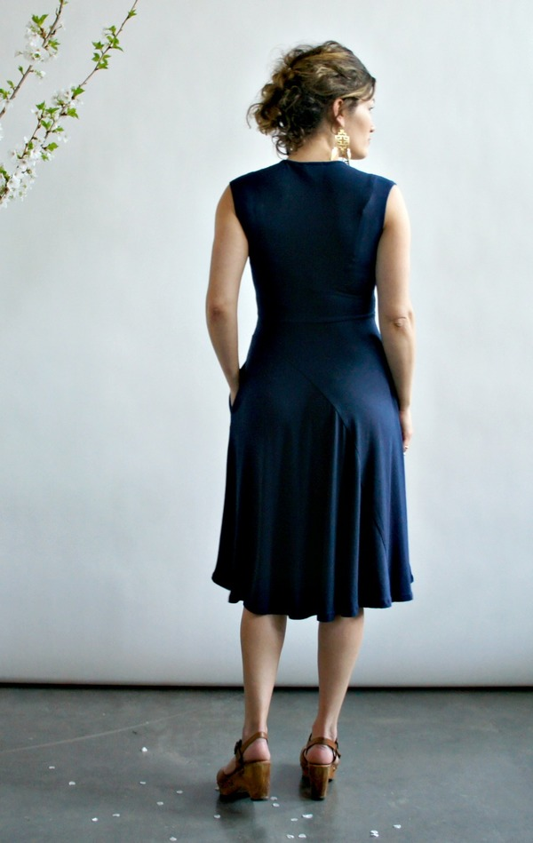 Mackenzie Dress by Curator in Black