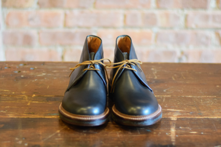 Alden Shoes 1247 Chukka Boot - Black Leather