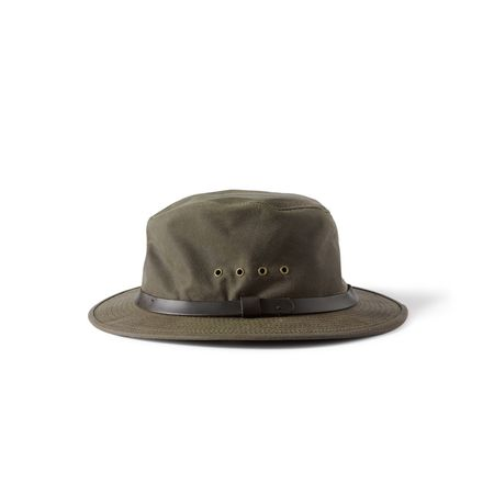 Filson Shelter Cloth Packer Hat Otter Green