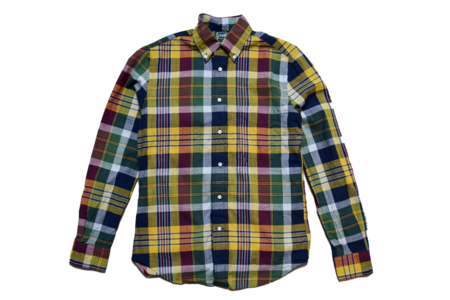Gitman Vintage Archive Madras Check Shirt