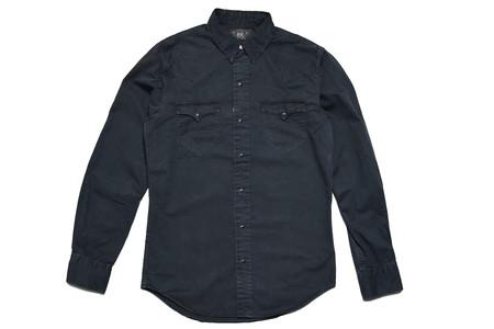 RRL Heritage Western Shirt Black