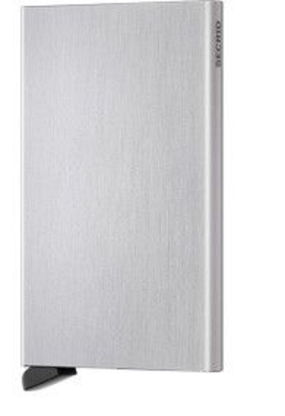 Secrid Cardprotector Brushed Silver Garmentory