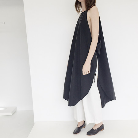 LLOYD Black Wrap Dress