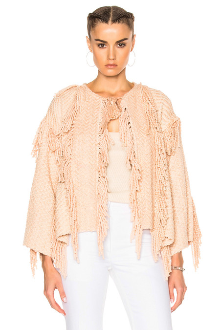 Ulla Johnson LUCINDA JACKET - BLUSH