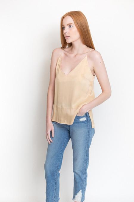 Just Female Beyer Singlet Top / Light Sand