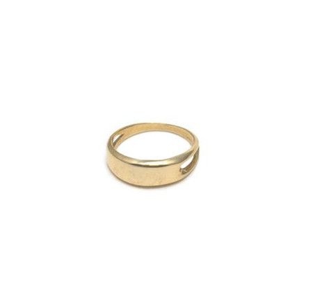 Erin Considine Signet Ring in Brass