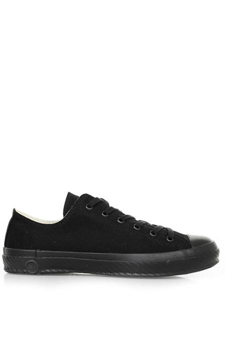 Shoes Like Pottery Low Canvas Sneaker - Mono Black