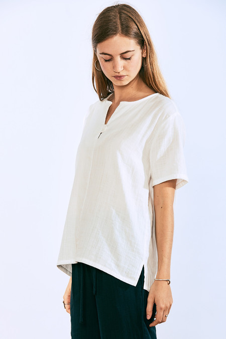 wrk-shp Droplet Top White