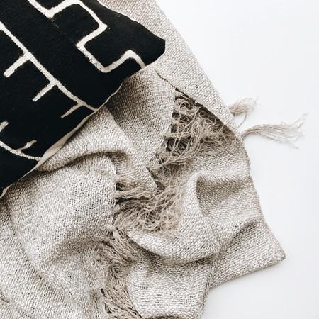 Territory Design Boucle Linen Throw