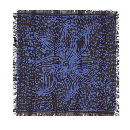 Post-Imperial Adire Galactic Motif Pocket Square