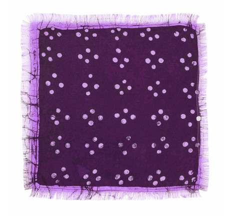 Post-Imperial Cross Dot Pattern Pocket Square