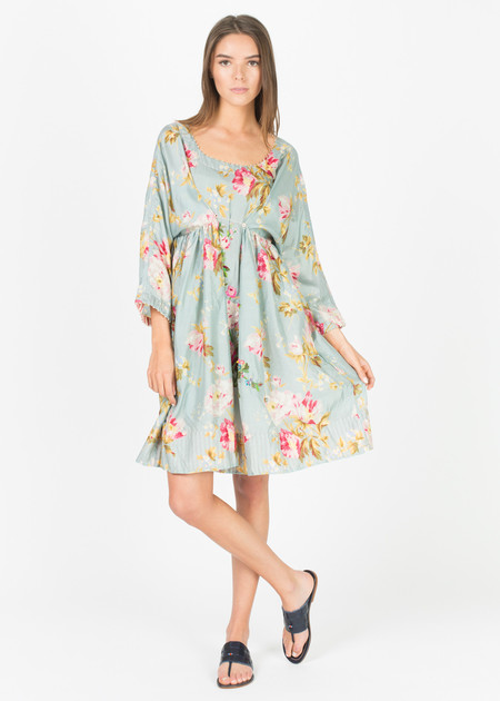 Pero Oversize Beaded Floral Dress