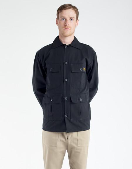 Stan Ray 4 Pocket Jacket - Black Ripstop