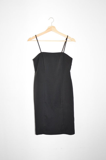 Clan of Cro Vintage | Black Sheath Dress