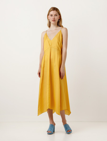 Lemaire Lingerie Dress Canary Yellow