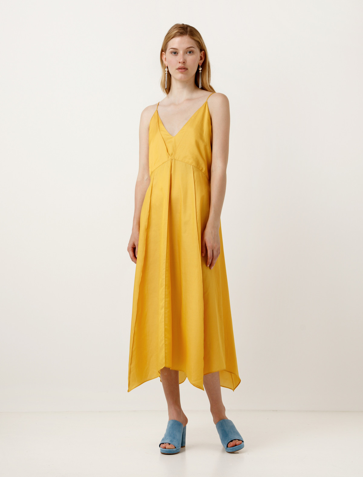 Lemaire Lingerie Dress Canary Yellow | Garmentory