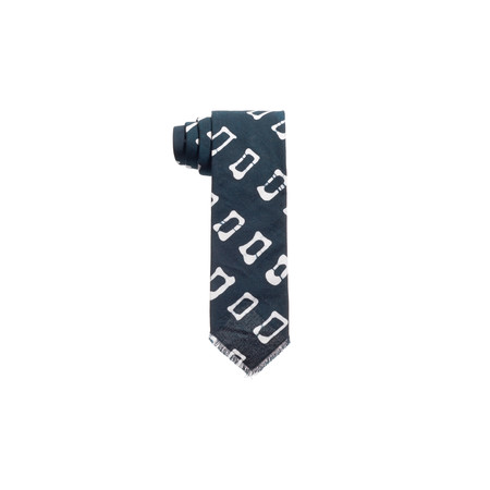 Post-Imperial Rectangular Pattern Tie