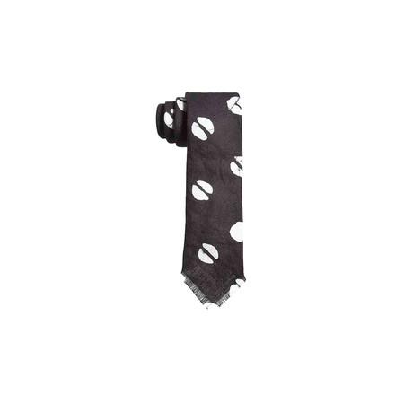 Post-Imperial Split Dot Pattern Tie