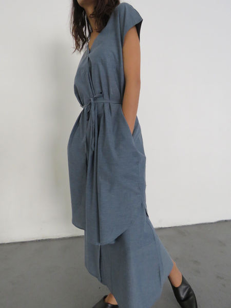 KOWTOW ROAD TRIP DRESS - CHAMBRAY