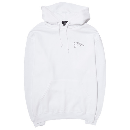 Alltimers Watercolor Logo Hoody - White