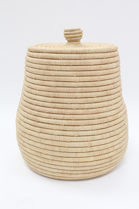Indego Africa Oversized Lidded Basket