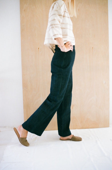 Han Starnes Denim Pants - Navy