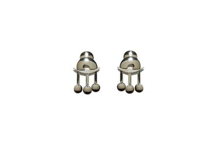 Lizzie Fortunato Temple Earrings