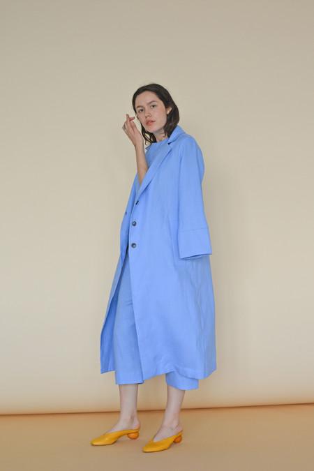 Wolcott : Takemoto Linen Norma Jacket in Evian