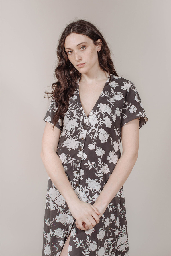 Cococo Show Me Dress in Blue Flower