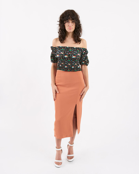 Won Hundred Kikki Skirt light Rusty Red